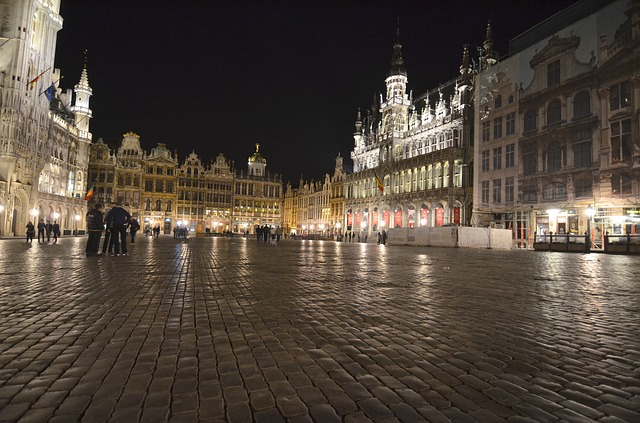NIght in Brussels