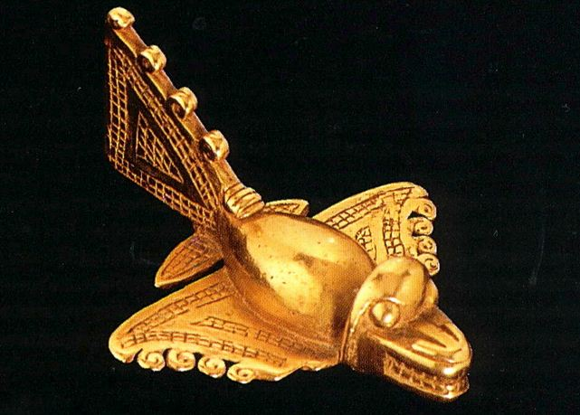 Aztec gold plane