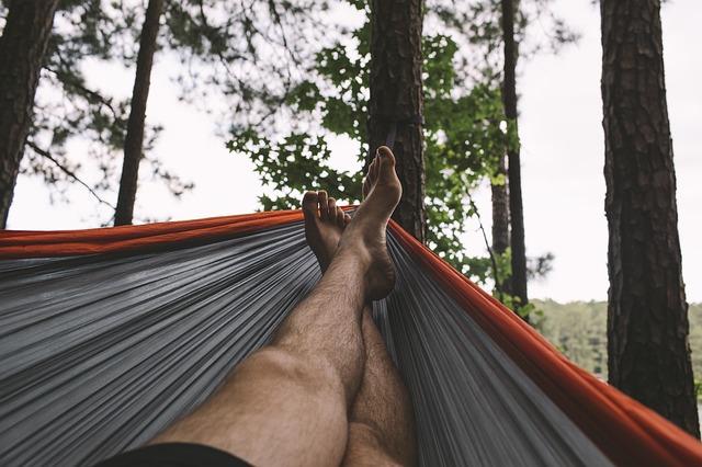 relaxed hammock