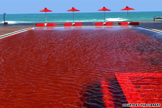 Red Pool at the Library Resort, Thailand