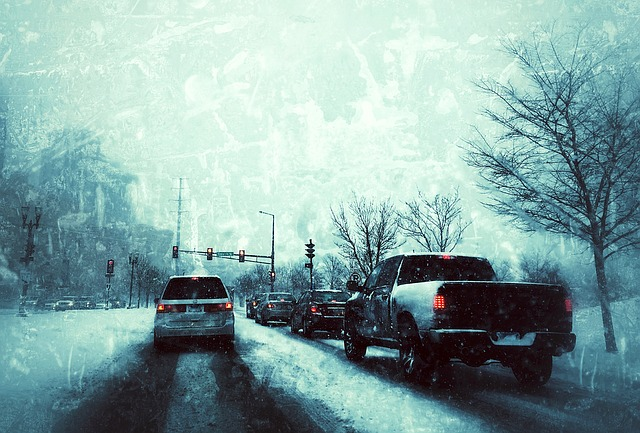 Ice and Snow driving