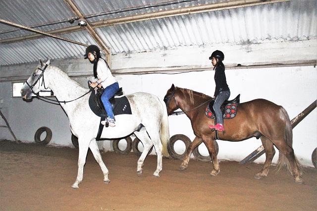 Horse riding lesson Latvia