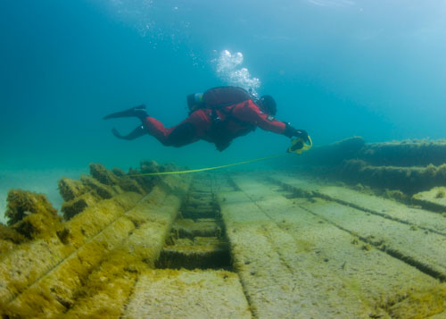 Diving great lakes