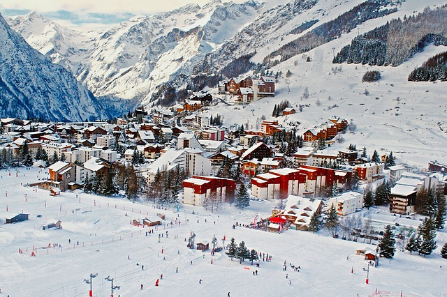 Great ski resort
