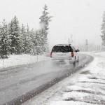 snow road trip
